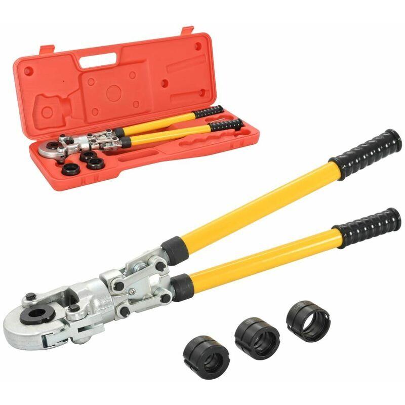 Hommoo Pince à sertir hydraulique Forme de V 16-20-26-32 mm HDV05677