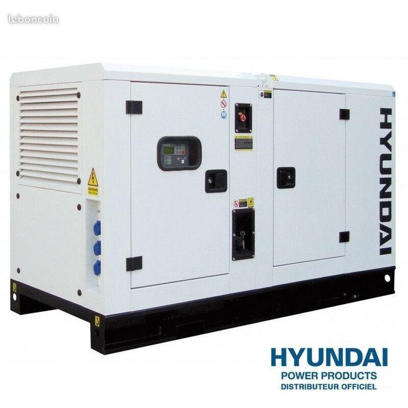 HYUNDAI Groupe électrogène diesel insonorisé tri 16.5kva DHY16KSE - Hyundai