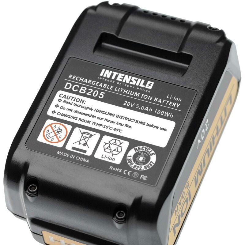 INTENSILO Batterie compatible avec Dewalt DCS331L1, DCS331L2, DCS380B,