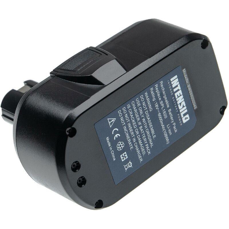 INTENSILO Batterie compatible avec Ryobi OGS-1820, OHT-1850, OLT-1830, ONE+ 18 Volt