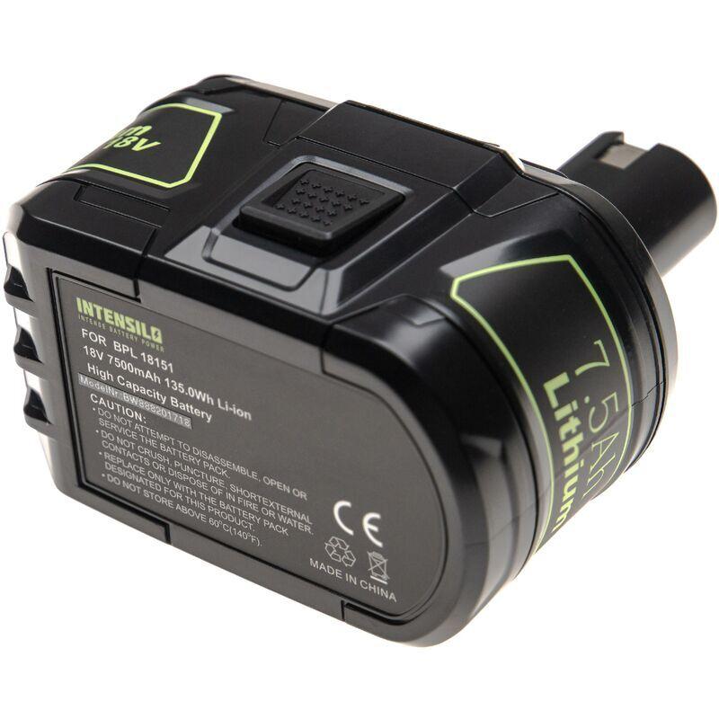 INTENSILO Batterie compatible avec Ryobi OGS-1820, OHT-1850, OLT-1830, ONE+ 18