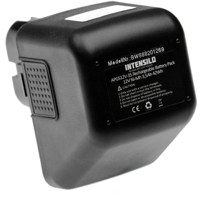 INTENSILO batterie remplace Gesipa 70291510061 pour outil électrique (3500mAh,