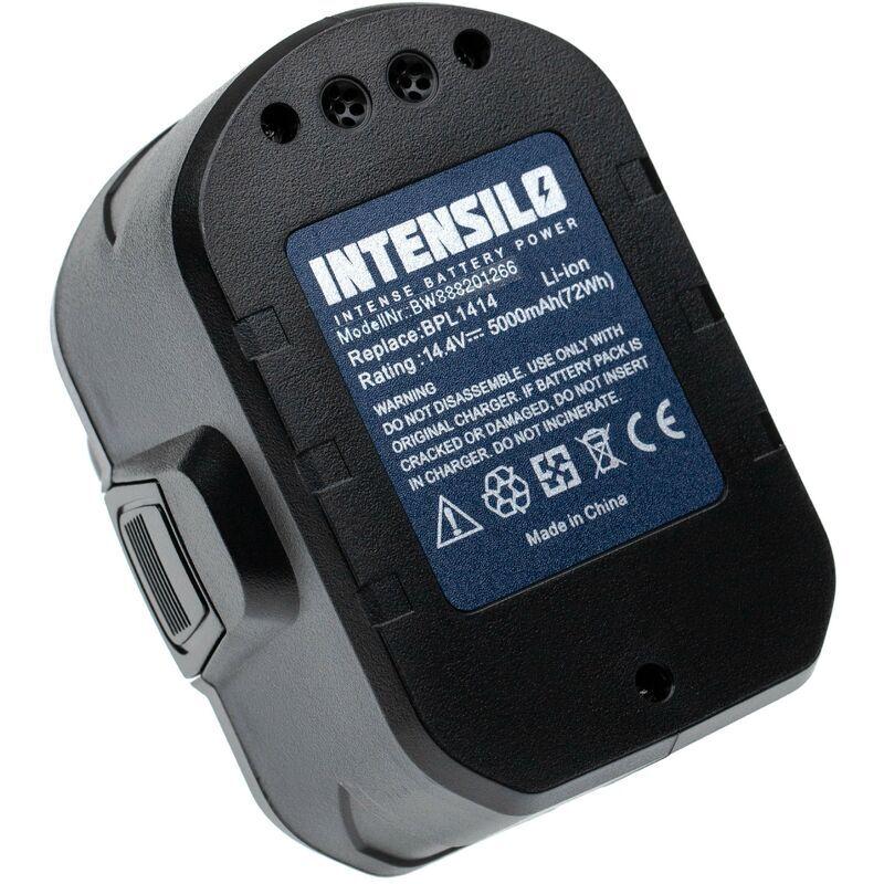 INTENSILO batterie remplace Ryobi 130171003, BPL1414 pour outil électrique