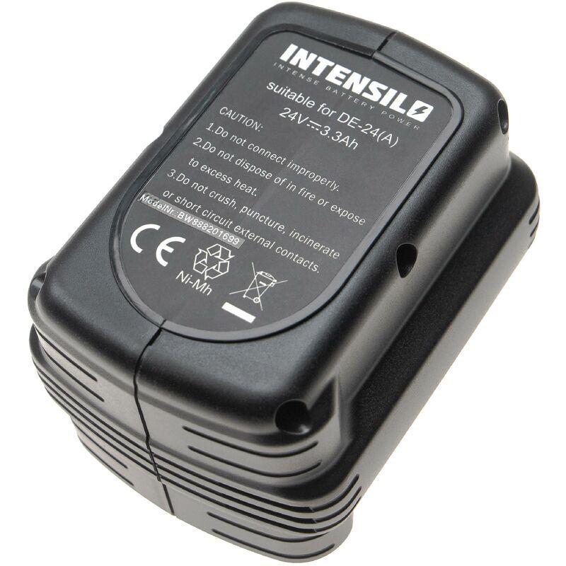 INTENSILO Batterie remplacement pour Dewalt DW0242 pour outil électrique