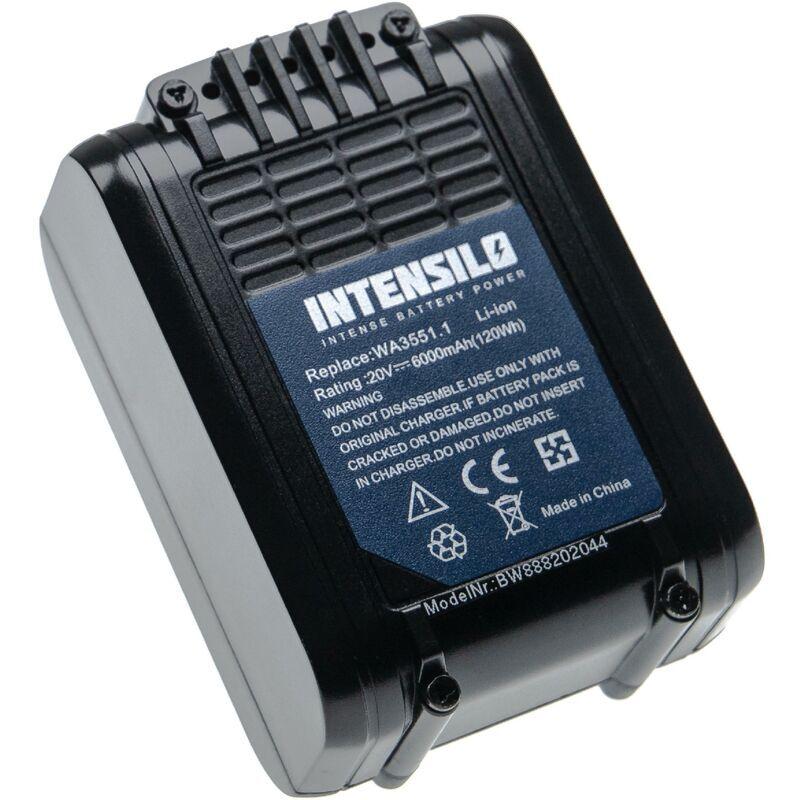 INTENSILO Batterie remplacement pour Rockwell RW9351.1 pour outil électrique