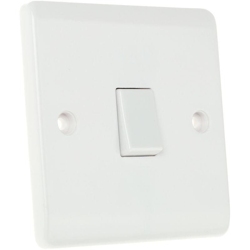 Rs Pro - Interrupteur d'éclairage va et vient, série RS blanc IP20 Blanc