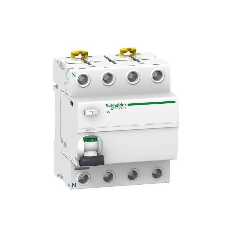 SCHNEIDER Interrupteur differentiel 4P 80A 300 MA selectif type ASI SCHNEIDER A9R35480