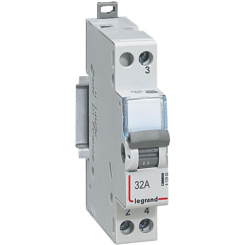 LEGRAND Interrupteur-inverseur - va et vient 250 V~ - 1 module