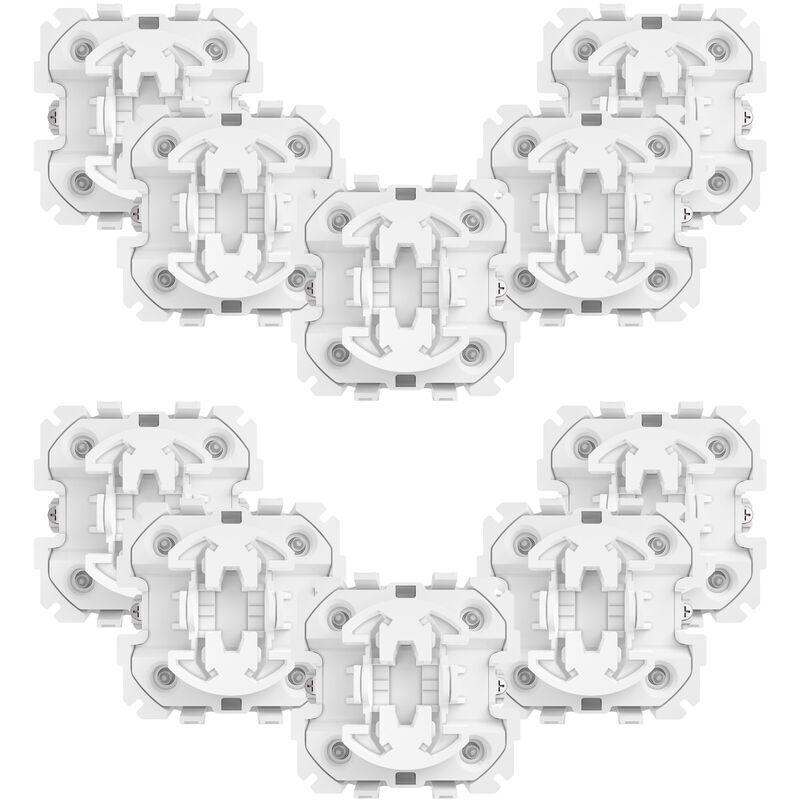 Fibaro - Lot de 10 modules encastrables variateur d'éclairage - Walli Dimmer
