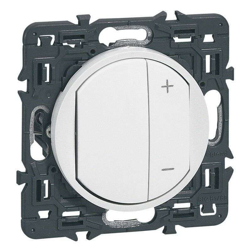 Legrand - Interrupteur variateur Céliane 300W Blanc (099735)