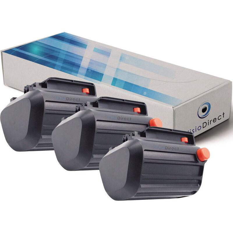 VISIODIRECT Lot de 3 batteries pour Gardena EasyCut et ComfortCut coupes-bordures 2500mAh