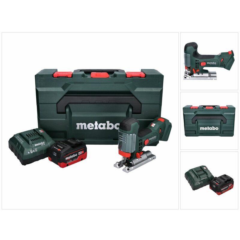 Metabo STA 18 LTX 100 Scie sauteuse sans fil 18V ( 601002840 ) + 1x Batterie