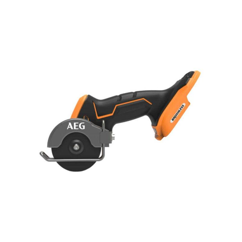 A.E.G Mini scie multi matériaux AEG 18V - Brushless - Subcompact - Sans batterie ni