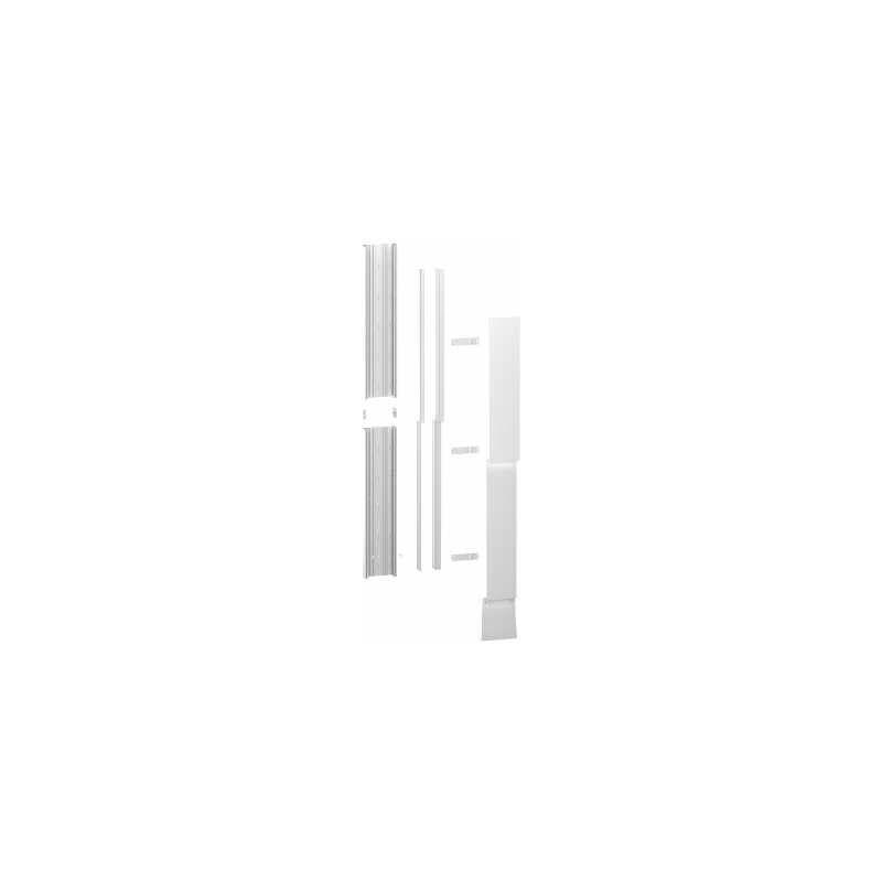 SCHNEIDER ELECTRIC Resi9 - kit goulotte 13m - 2 parties - corps - capot - cloisons - capot erdf