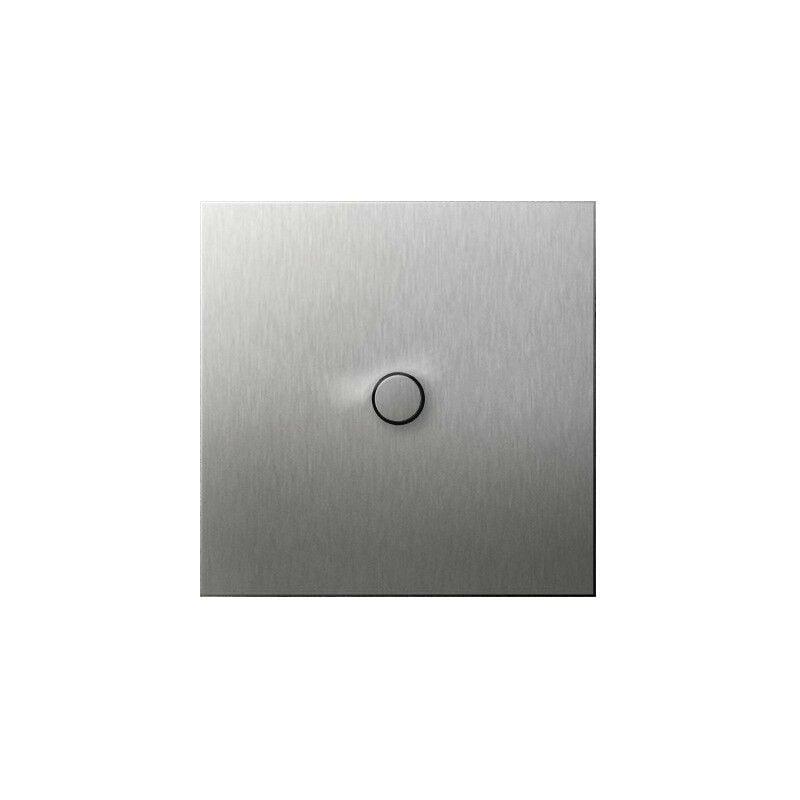 ARNOULD Poussoir 2A à bouton rond acier brossé Art d'Arnould 67410