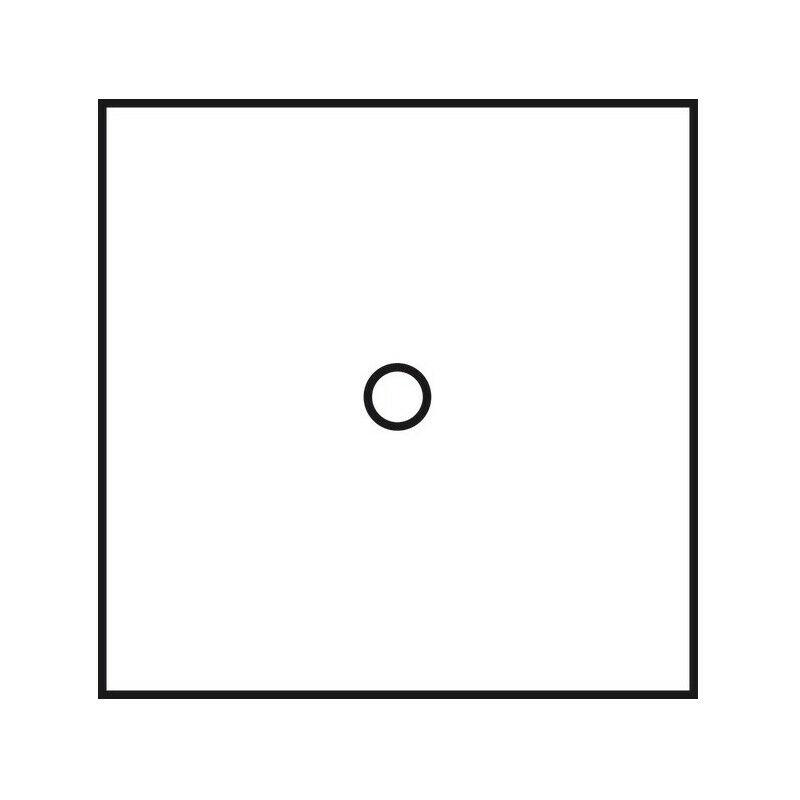 ARNOULD Poussoir 2A à bouton rond blanc satin Art d' 67910 - Arnould