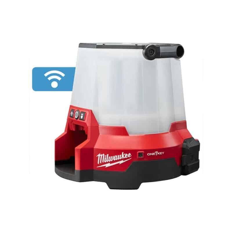 Milwaukee - Lampe One-Key LED 360° Hybride (filaire et sans sans fil)   M18