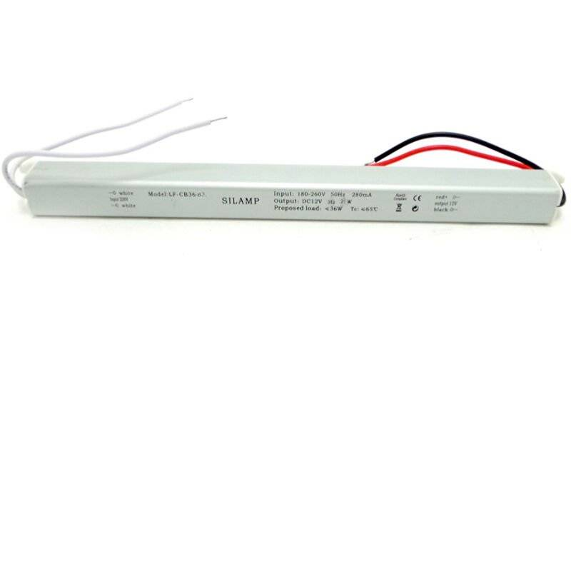 SILAMP Transformateur 220V 12V 60W IP44 DC 5A - Silamp