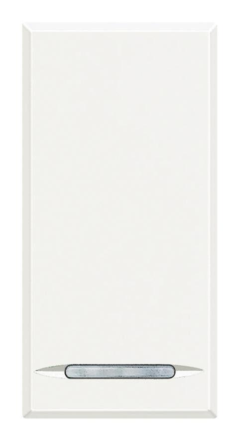 BTICINO Va-et-vient 16AX 250V~ 1 module - Axolute - Blanc - HD4003A - BTicino