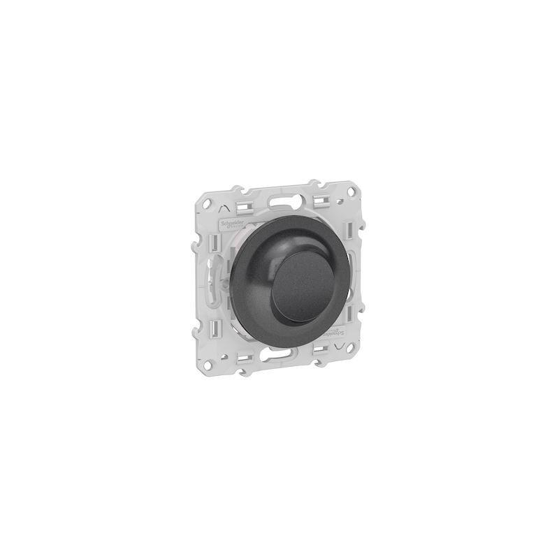 SCHNEIDER Variateur Rotatif Bluetooth Odace Wiser - Anthracite / Schneider
