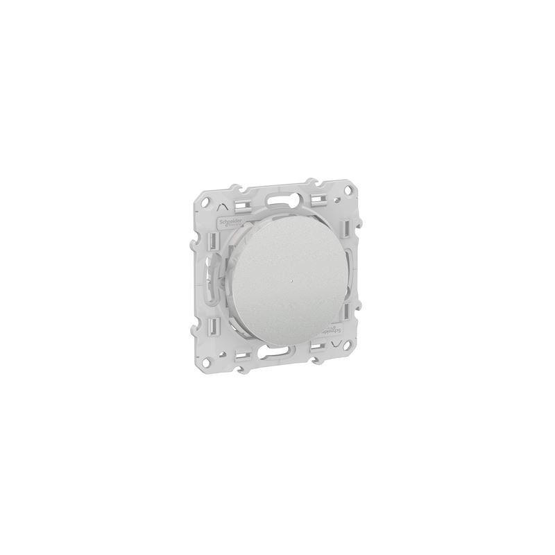 SCHNEIDER Variateur Poussoir Bluetooth Odace Wiser - Alu / Schneider