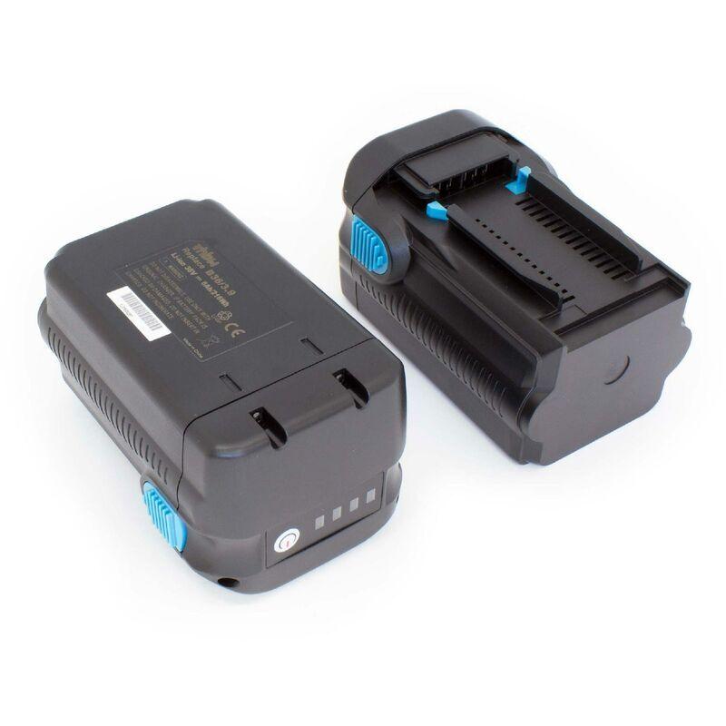 VHBW 2 x Li-Ion Batterie 6000mAh (36V) pour outils Hilti TE 6A, TE 7A, TE6A, TE7A