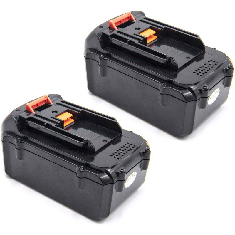 vhbw 2x Li-Ion batterie 4000mAh (36V) pour outil électrique outil Powertools