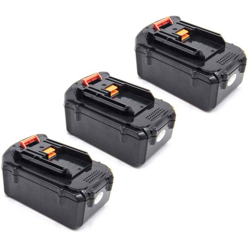 vhbw 3x Li-Ion batterie 4000mAh (36V) pour outil électrique outil Powertools