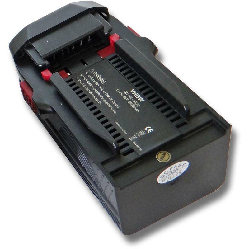 vhbw Batterie compatible avec Hilti WSC 7.25-A36 pour outil électrique (3000mAh