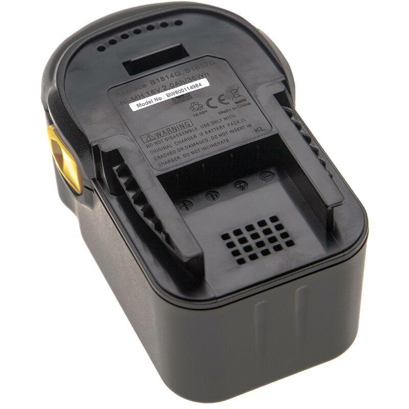 vhbw Batterie compatible avec AEG BSB 18 STX, BSS 18C, BST 18X, BUS 18, BUS 18