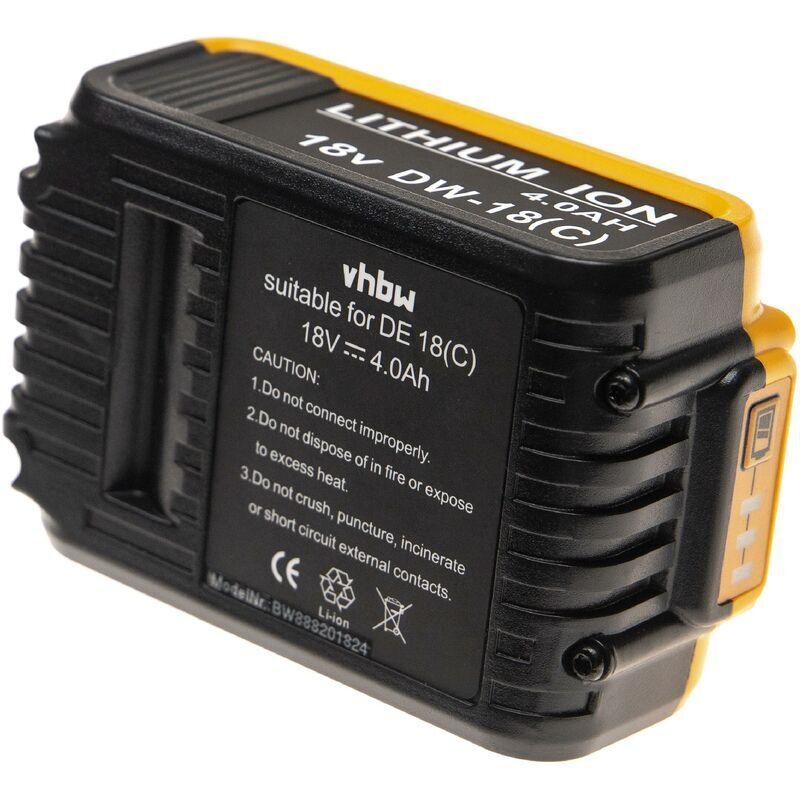 VHBW Batterie compatible avec Dewalt DCS331L1, DCS331L2, DCS331M1, DCS331N, DCS355,