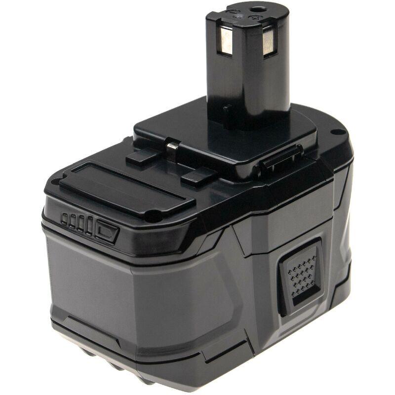 vhbw Batterie compatible avec Ryobi P813, ZRP813, P713, ONE+ 18 Volt Cordless
