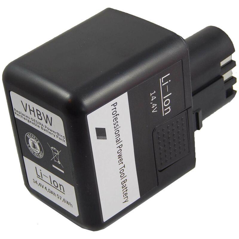 vhbw Batterie compatible avec Würth ANG 14, ANG 310 outil électrique (4000mAh