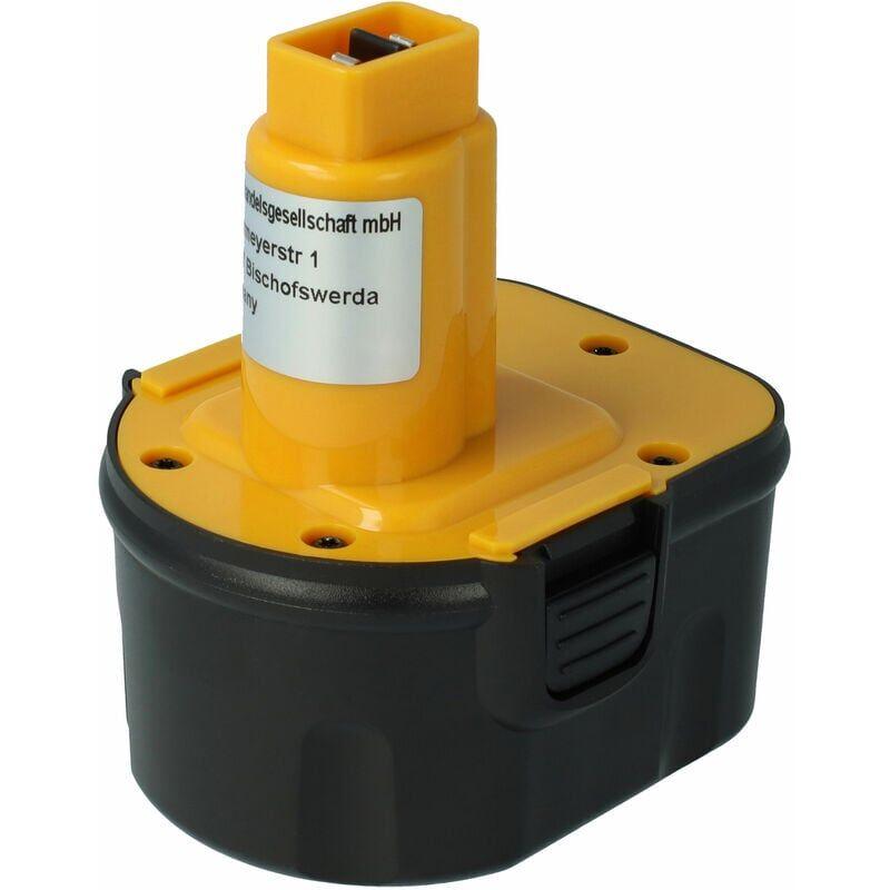 vhbw Batterie NiMH 2000mAh pour outils électriques Black & Decker KC1282CK,