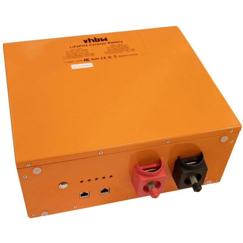 vhbw Batterie pour caravane, bateau, camping, camping car (172Ah, 12.8V,
