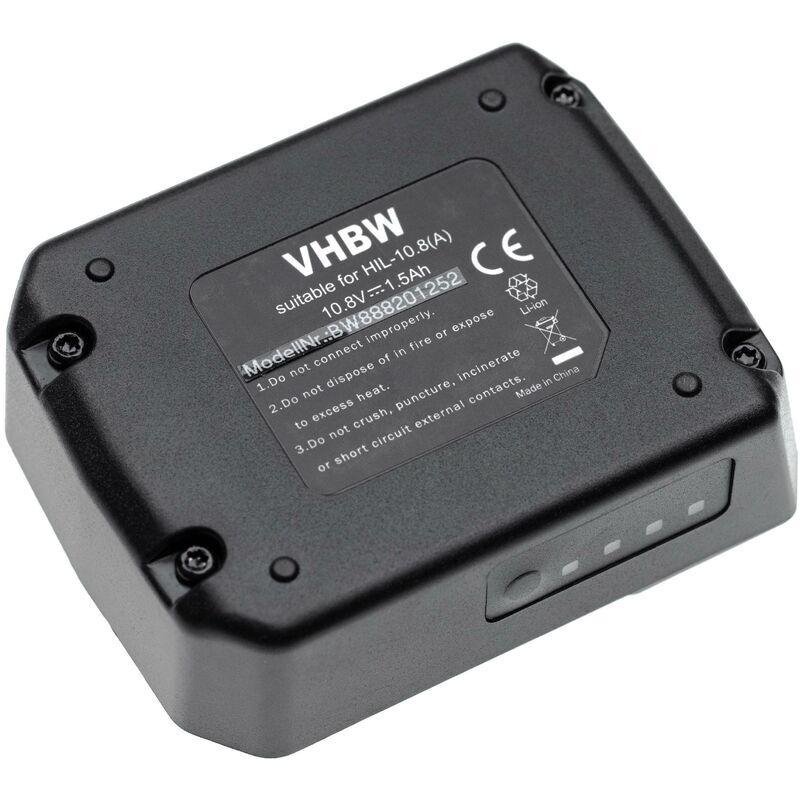 vhbw batterie remplace Hilti B 12/2.6, B 12/4.0 pour outil électrique (1500mAh