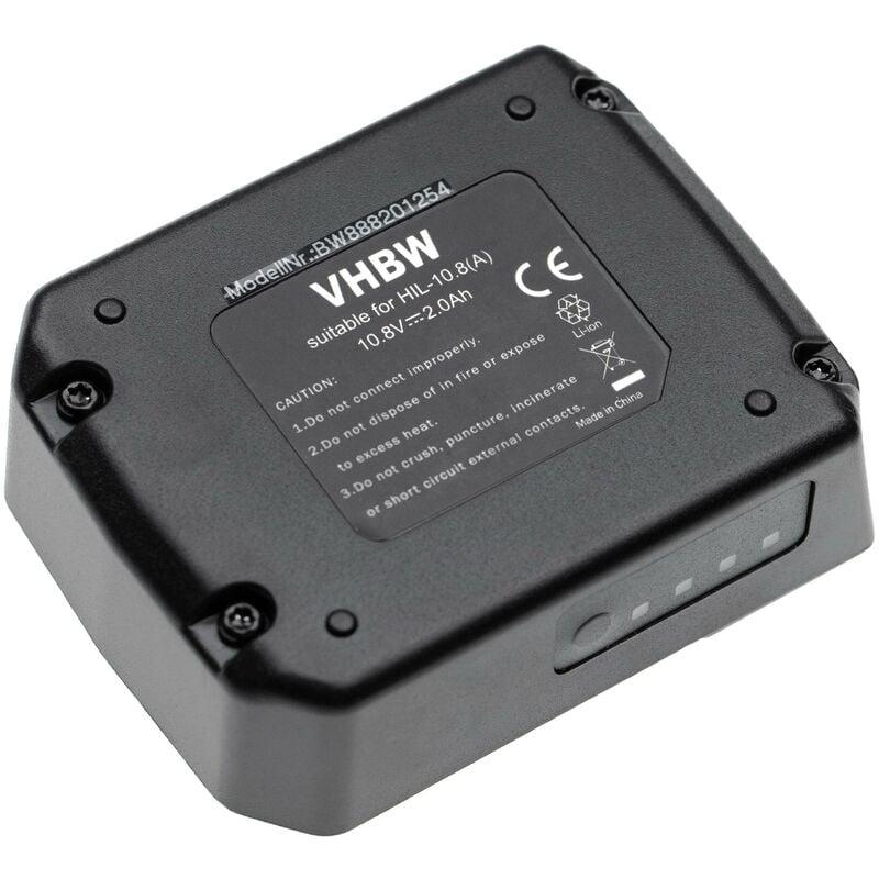 vhbw batterie remplace Hilti B 12/2.6, B 12/4.0 pour outil électrique (2000mAh