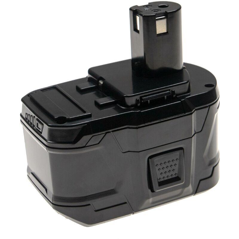 vhbw Batterie remplace Ryobi RB18L25 pour outil électrique (9000mAh Li-Ion 18V)