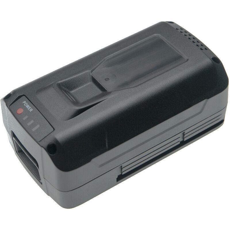 vhbw Batterie remplace Snow Joe IBAT40, iBAT40XR pour outil électrique (5000mAh