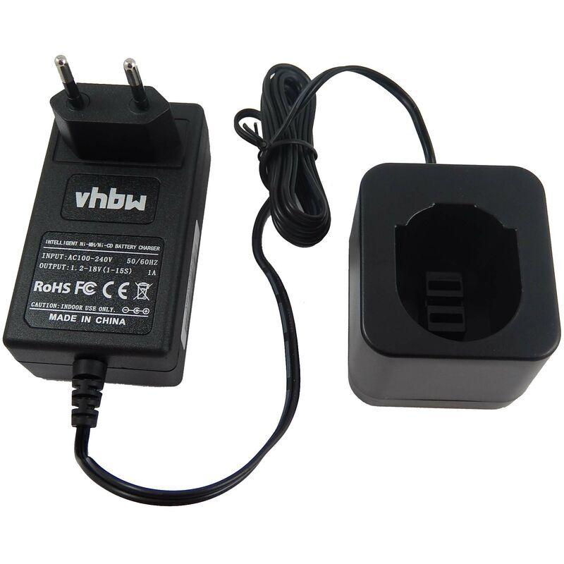 vhbw Chargeur d'alimentation 220V pour outil Black & Decker CD431K2, FS632,