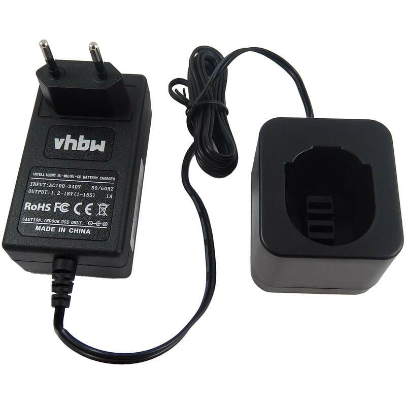 VHBW Chargeur d'alimentation 220V pour outil Black & Decker KC1282C, KC1282CK,