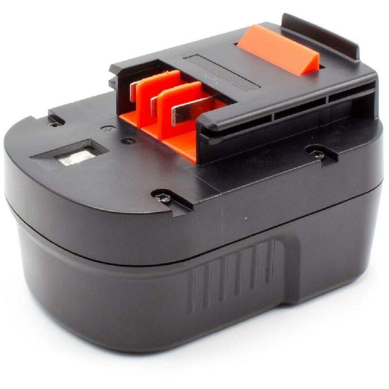 vhbw Batterie compatible avec Black & Decker BD12PSK, BDBN1202, BDG1200K,