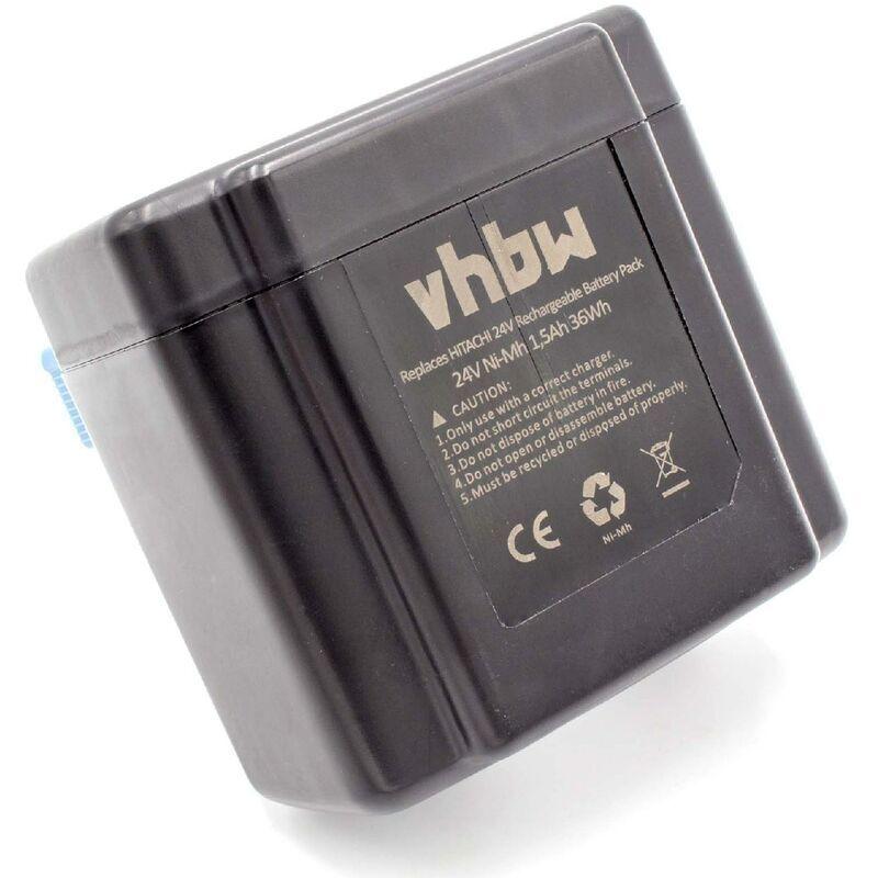 vhbw NiMH batterie 1500mAh (24V) pour outil électrique outil Powertools Tools