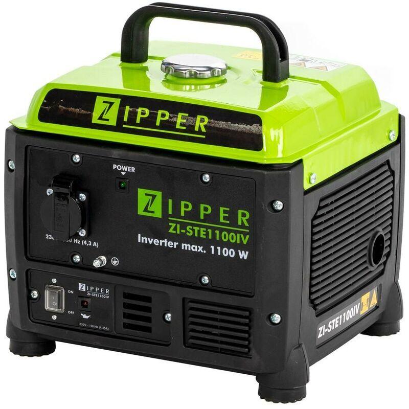 Zipper Maschinen - GROUPE ELECTROGENE INVERTER PORTABLE 1100W 230V ZIPPER