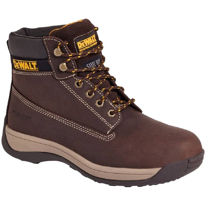 Dewalt - Chaussures de sécurité - Hommes (43 FR) (Marron foncé)