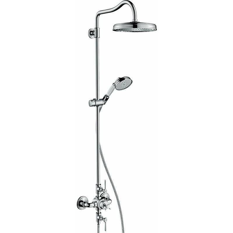 Hansgrohe AXOR Montreux Pipe de douche avec thermostat, pomme de douche 240 1