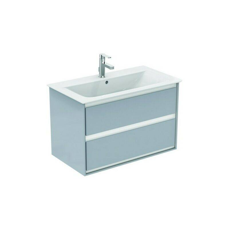IDEAL STANDARD Meuble sous-lavabo CONNECT Air, 800 mm, 2 tiroirs, E0819, Coloris: Décor pin