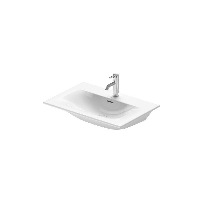 Duravit Meuble lave-mains Viu 234473, 730 mm, avec trop-plein, avec table de