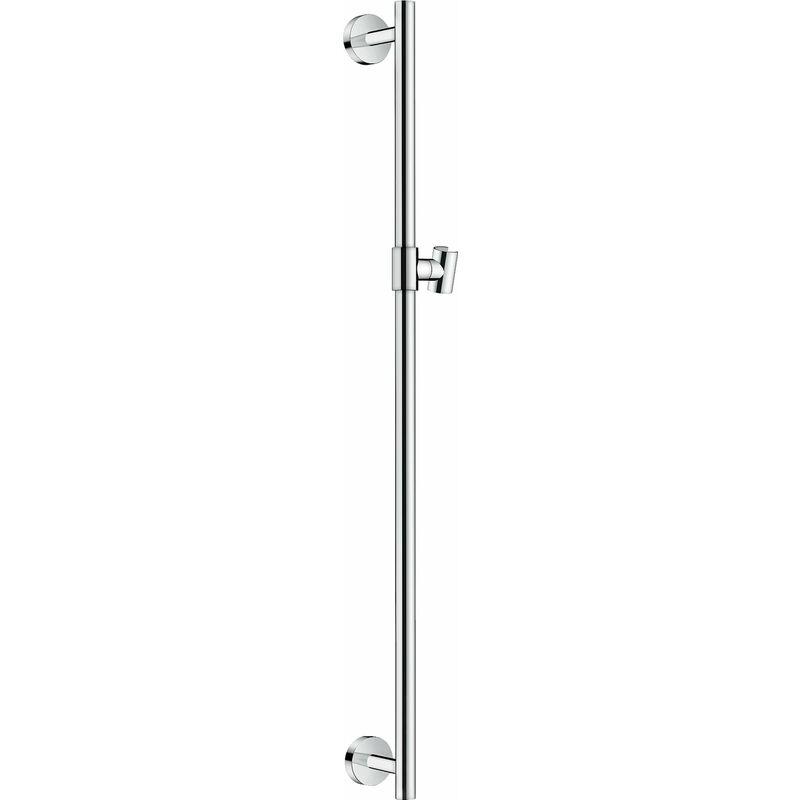 Hansgrohe - Barre de douche Unica Comfort 90 cm, 26402000, chrome - 26402000