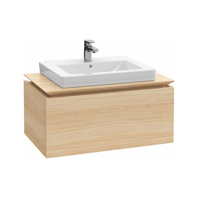 VILLEROY UND BOCH AG Meuble sous-lavabo Villeroy & Boch Legato B103L6, 800x380x500mm, centré lavabo,